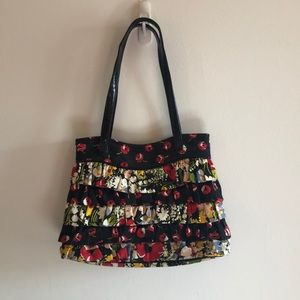 Vera Bradley ruffle purse